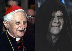 Pope and Palpatine